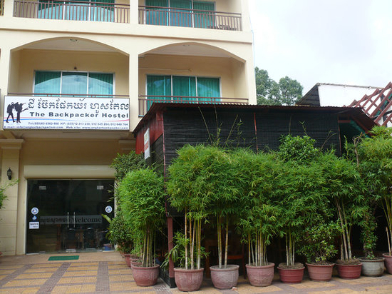 The Backpacker Hostel: Front View