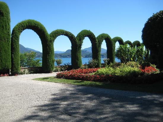 Parco della Villa Pallavicino: panorama
