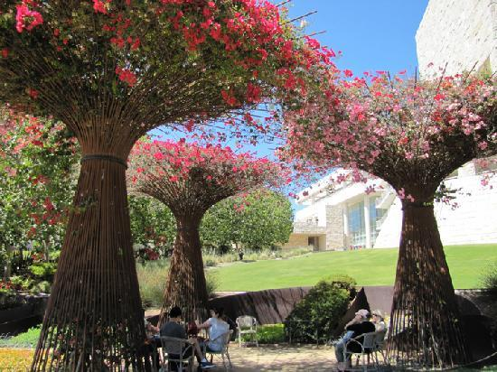 The Getty Center: Great Garden Idea! Though On A Smaller Scale.