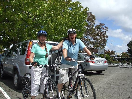 Auckland Rose Park Hotel: Cycle Buddies