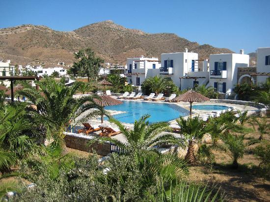 Yialos Ios Hotel: poolview