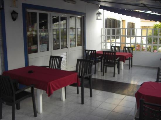 Restaurante Palladium: Terrasse