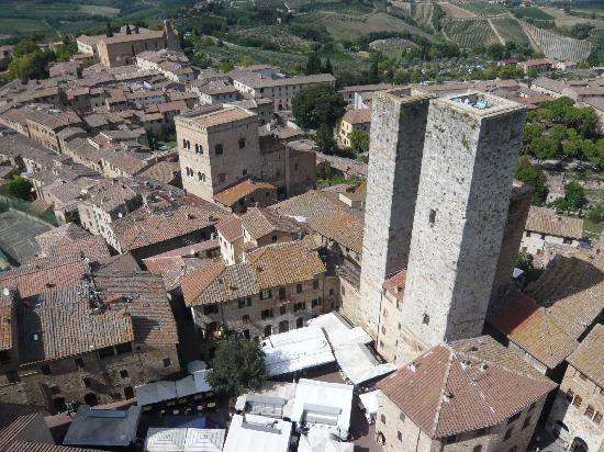 Palazzo Pubblico e Torre Grossa: 双子の塔