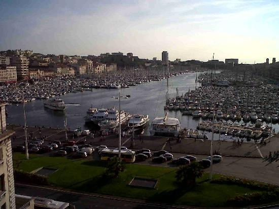 New Hotel Vieux Port: La vue de la chambre terrasse