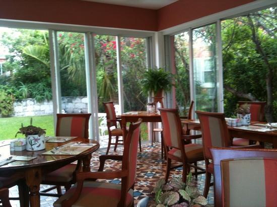 Royal Palms Hotel : breakfast room