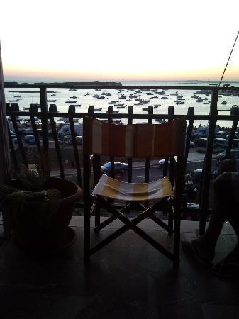 B&B Lungomare di Ponente : tramonto dalla camera