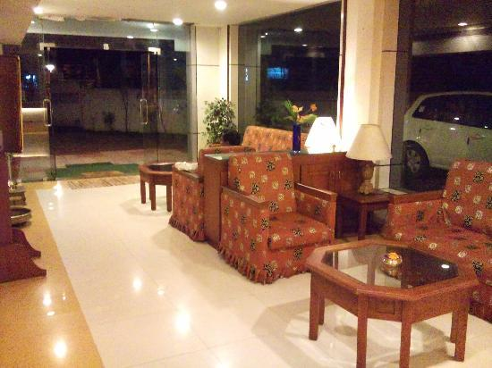 Central Park Hotel: Lobby