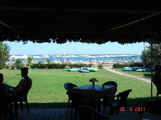 Pine House Hotel : view from the beach bar