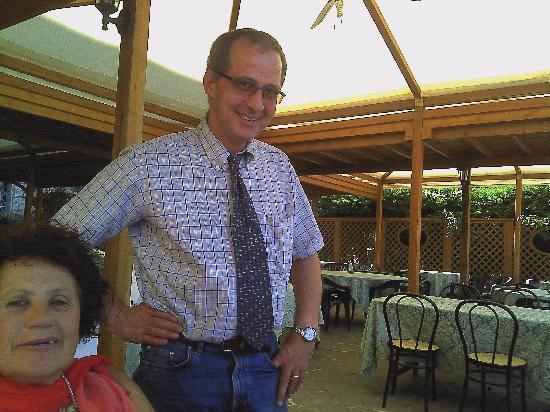 Soriano nel Cimino, Italy: il gestore sig.Emanuele