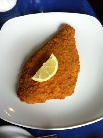 Fish Tram Chips: Breaded Plaice