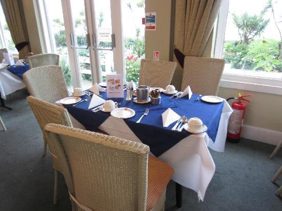 The Ocean Hotel: breakfast