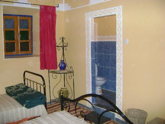 Kasbah Imini: chambres équipées de sanitaires