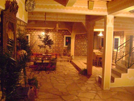 Kasbah Imini: nos chambres donnent toutes sur un beau patio