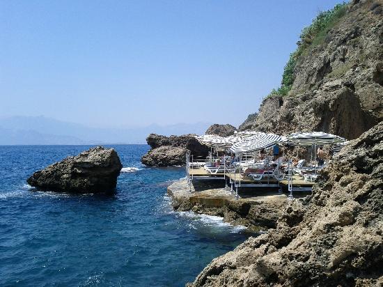 The Marmara Antalya: Il pontile attrezzato