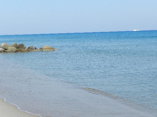 أوليمبيا مار بيتش هوتل: spiaggia