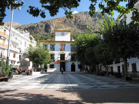 Guejar Sierra, Испания: Plaza Mayor, Güejar-Sierra