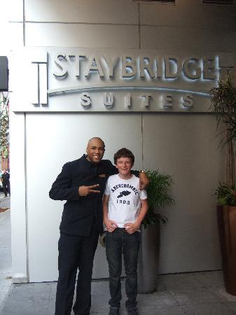 Staybridge Suites Times Square - New York City: The legend that is Barry!