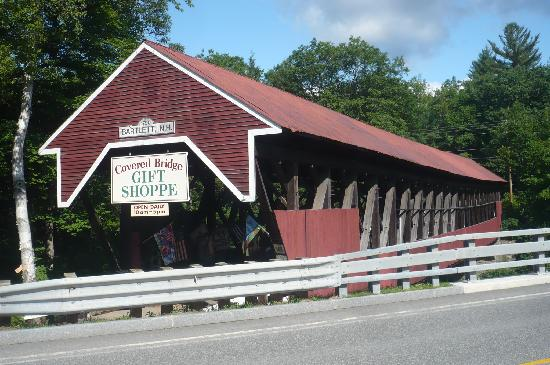 Covered Bridge House: Pont couvert