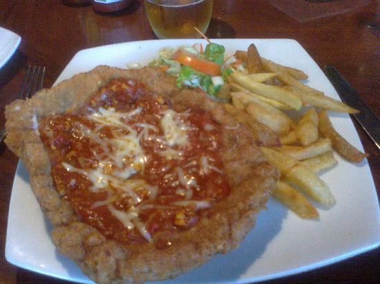 The Bavarian German Restaurant and Pub: Bavarian Scnitzel