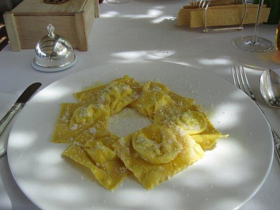 Polesine Parmense, Italien: Tortelli made in class
