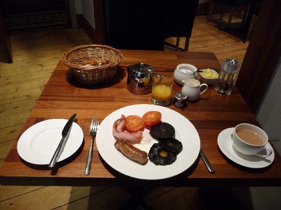 Jerichos Guest House: Jerichosの朝食