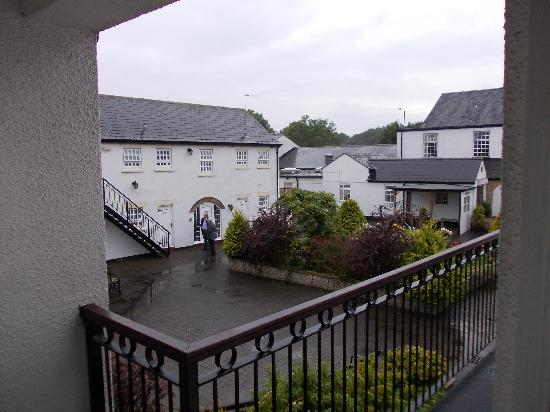 wet stairs - Picture of Park Head Country Hotel and