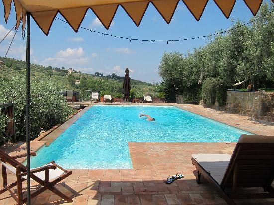 Il Fontanaro: The pool is perfect--day or night