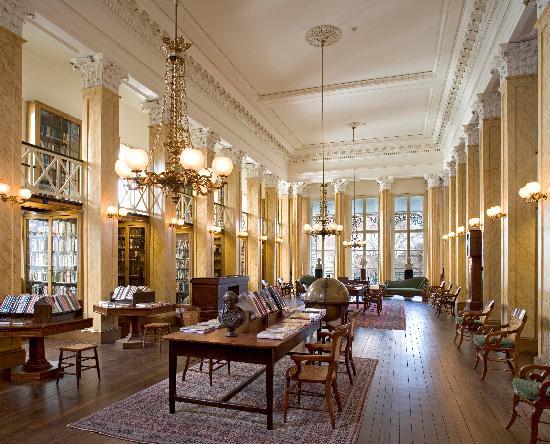 Athenaeum of Philadelphia: Athenaeum Reading Room