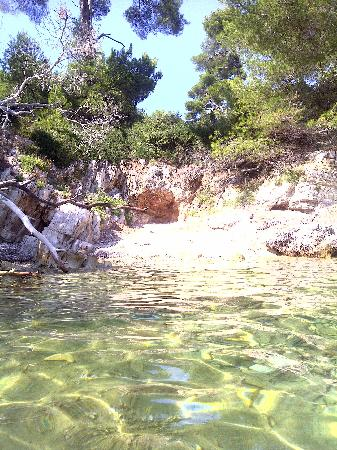 Camping Eden: Your own little cove accessed by little paths Isle de St. Marguerite