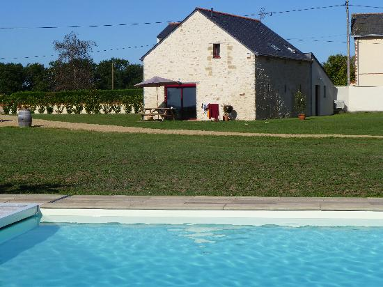 Domaine des Gauliers : Pool mit Haus