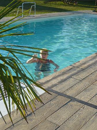 Domaine des Gauliers : Schöner Pool