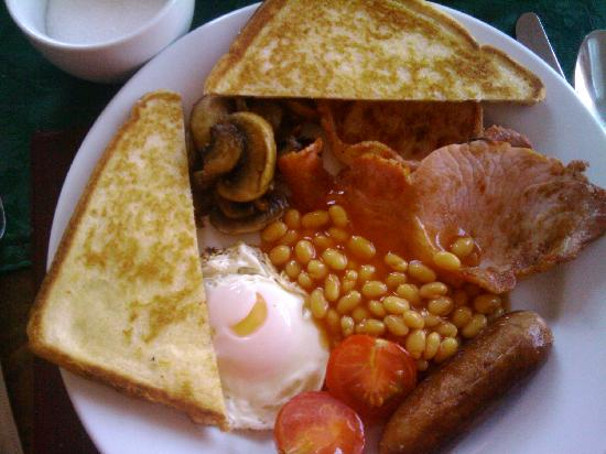 Bryncelyn Guesthouse: lovely cooked brekfast!