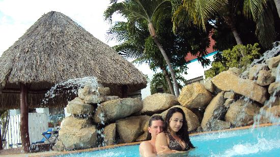 The Mill Resort & Suites Aruba: in the pool