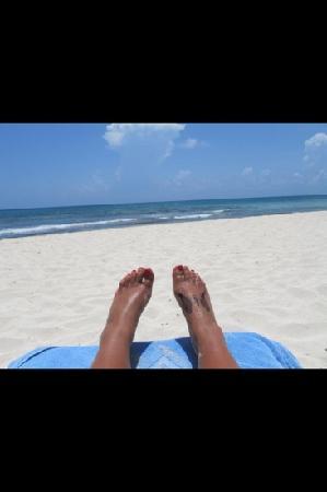 Valentin Imperial Riviera Maya: love the beach!!