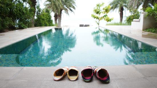 Villa Maroc: A private pool