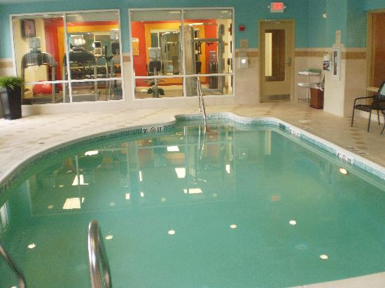 The Pool - Picture of Hilton Garden Inn Silver Spring North, Silver ...