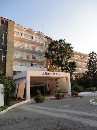 Holidays In Evia Eretria Village Hotels Entrée De L Hôtel