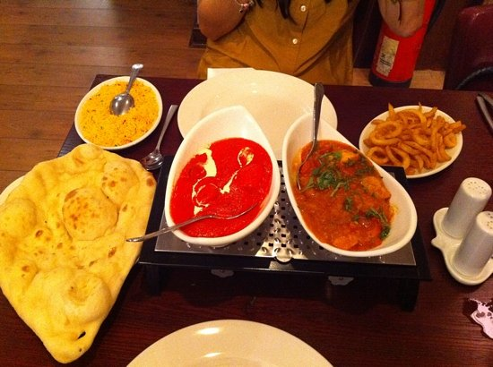 Indian Flava: our meal