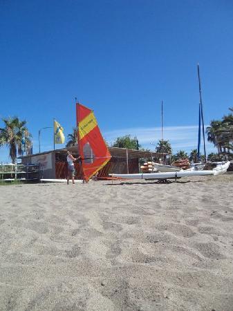 Hotel Il Tempio: spiaggia hotel