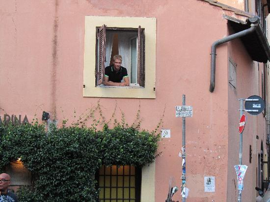 Relais Casa della Fornarina : Window from outside