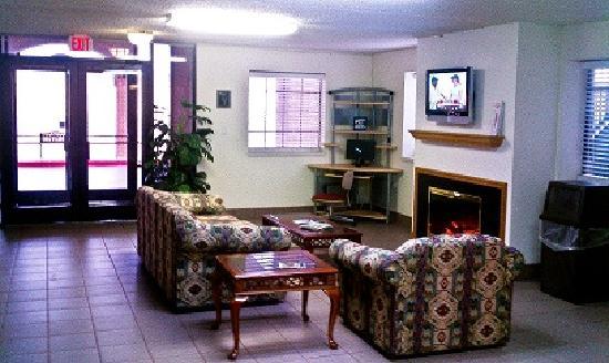 Budgetel Inn Houston : Lobby