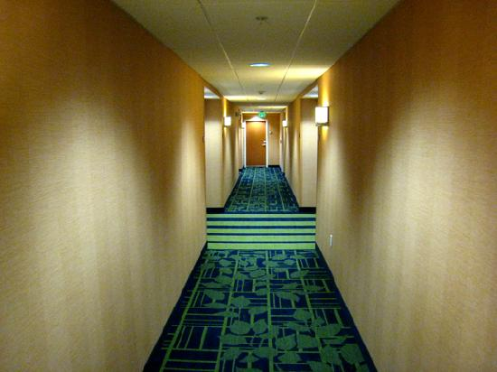 Fairfield Inn & Suites Seattle Bremerton: Fourth-floor hallway