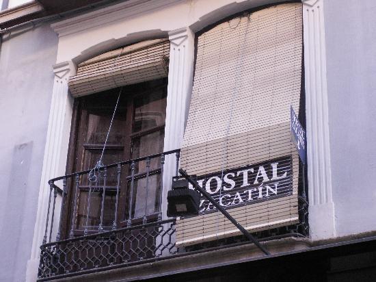 Hostal Zacatin: Fenêtre Chbre 18