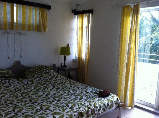 Residence C'est ici: la camera da letto