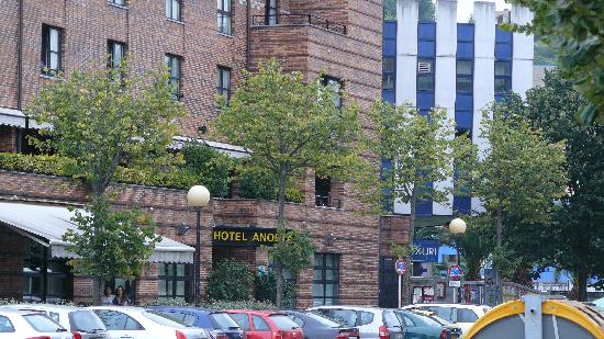 Hotel Anoeta: fachada