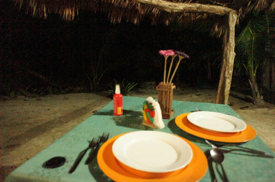 La Princesa de la isla: Our romantic table x 2