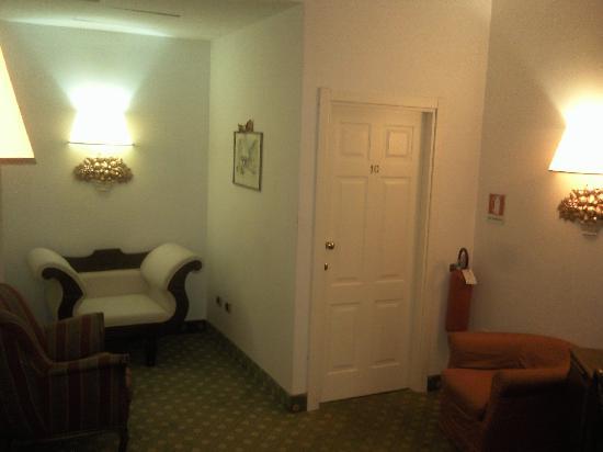 Hotel Argentina: Pasillos