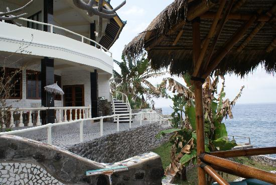Villa Arjuna: Our rooms near the ocean