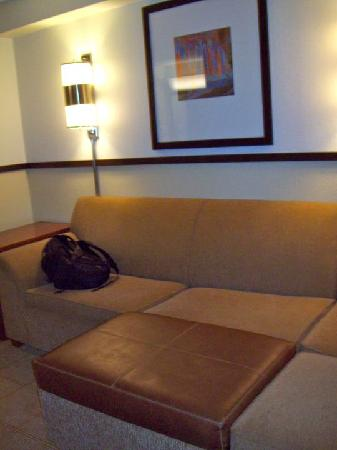 Hyatt Place North Raleigh-Midtown: comfy couch