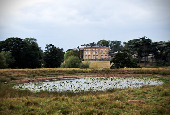 Shrewsbury, UK: Attingham Park and Pond
